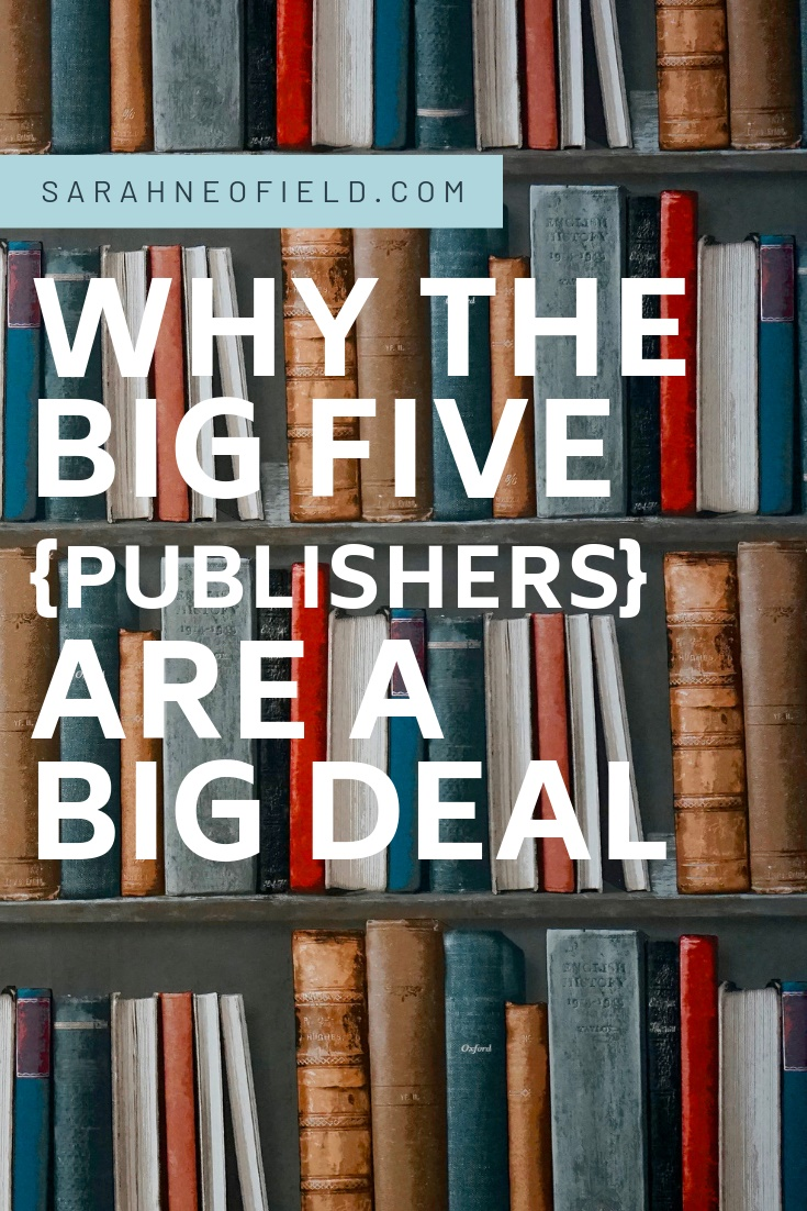 Why the Big Five Publishers are a Big Deal