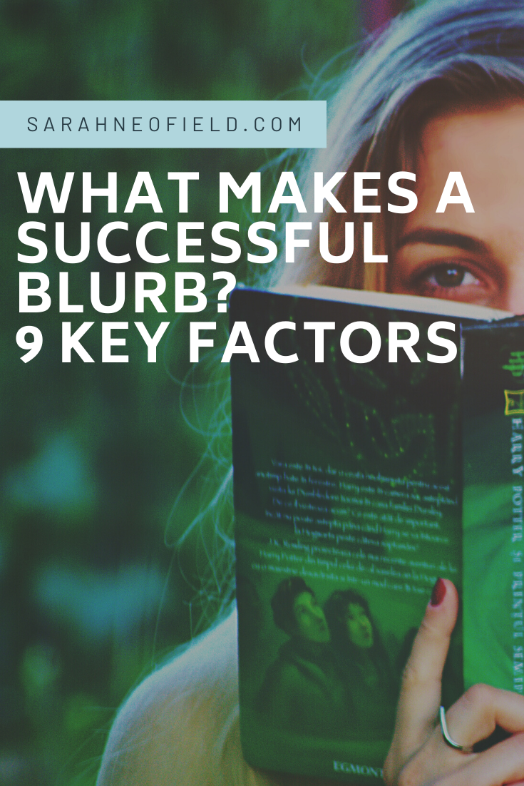What makes a successful blurb?