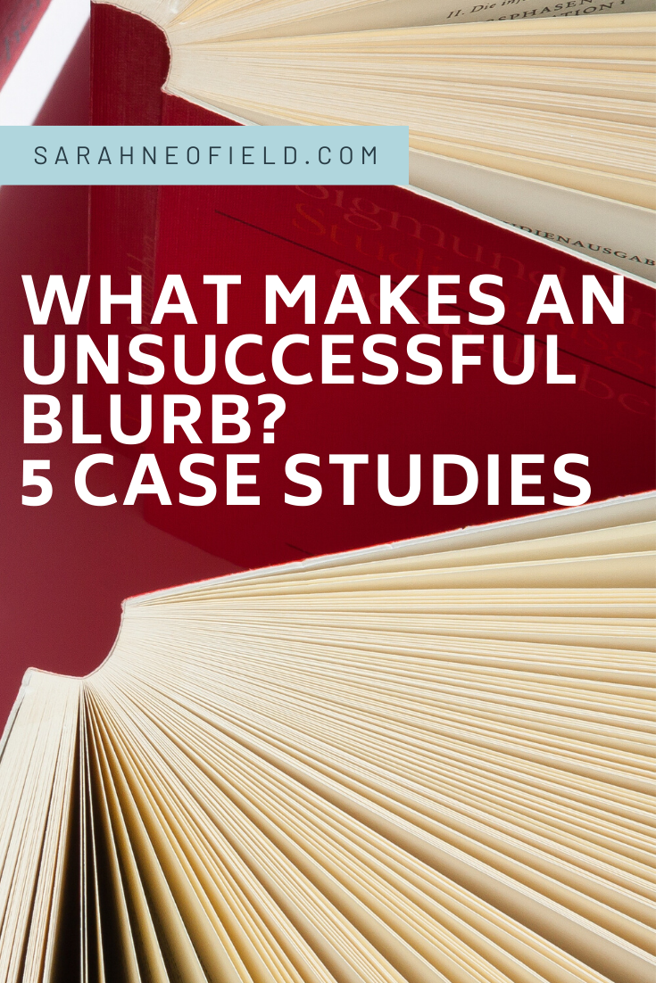 What makes an unsuccessful blurb?
