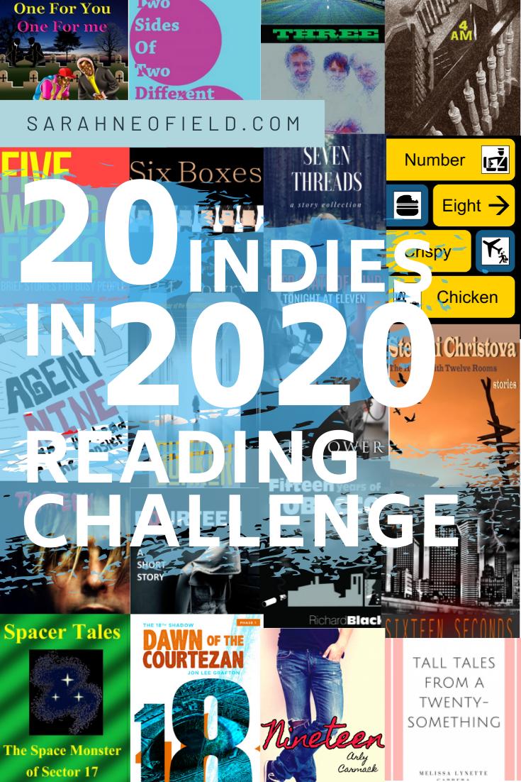 20 Indies in 2020 Reading Challenge