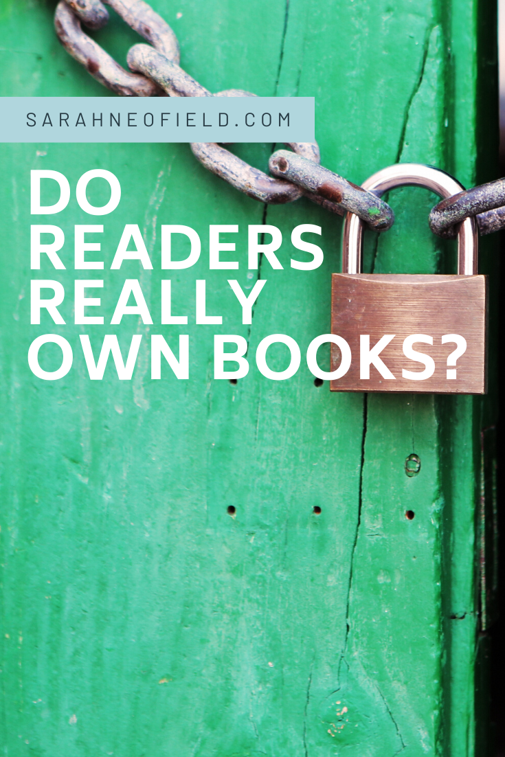 Do readers really own books?