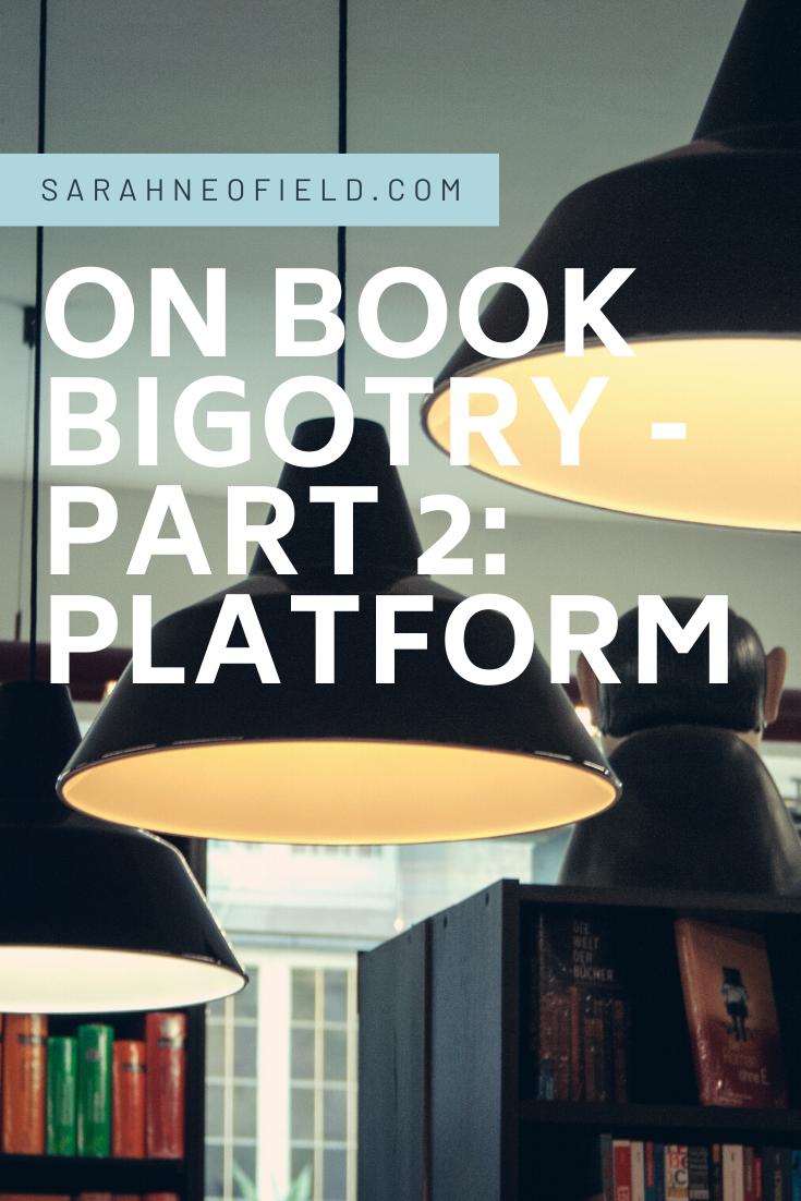 On Book Bigotry – Part 2