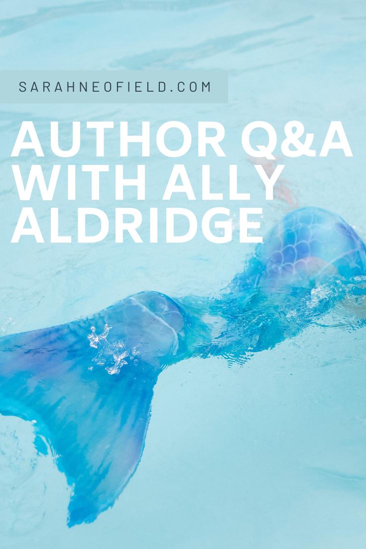Author Q&A with Ally Aldridge